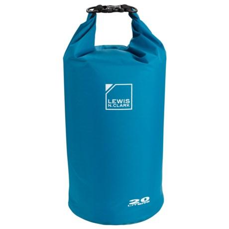 Lewis N Clark Waterseals 20L Dry Bag in Blue