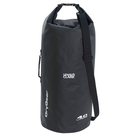 Lewis N Clark Waterseals 40L Dry Bag in Black - Closeouts a71cba3b7bffc