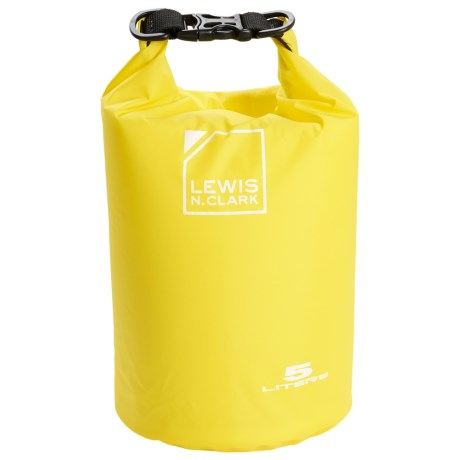 Lewis N Clark Waterseals 5L Dry Bag in Yellow
