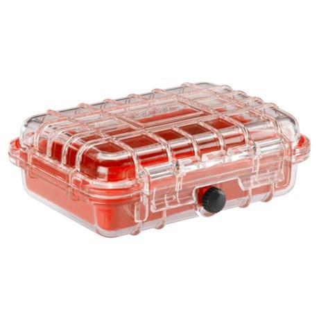 Lewis N Clark Waterseals Waterproof Hard Case - Medium in Red