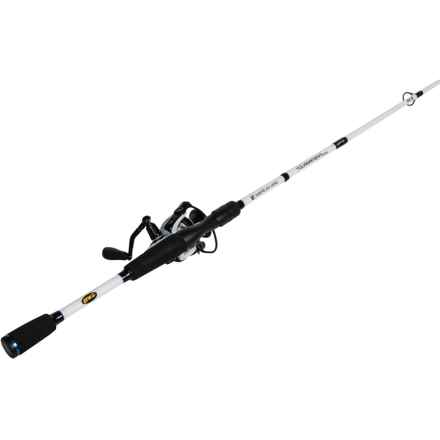 """Lew's American Hero® Tournament Speed Spin® Rod and Reel Combo - 6'6"""", Medium Power in See Photo - Closeouts"""