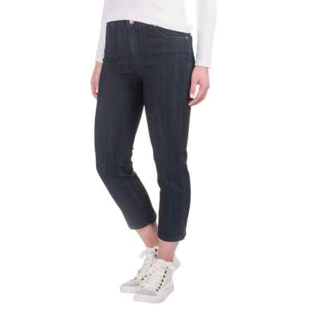 Lexington Capri Jeans (For Women) in Dark Denim - 2nds