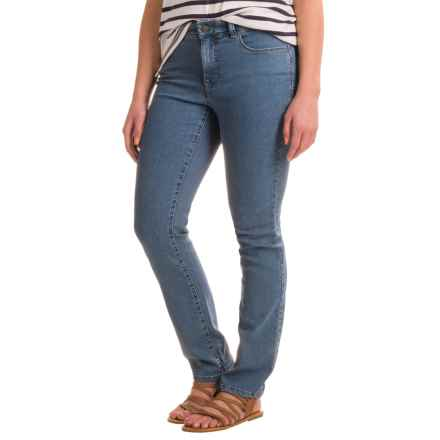 Lexington Lightweight Straight-Leg Jeans - Cotton-Rayon Blend (For Women) in Denim Blue - Closeouts