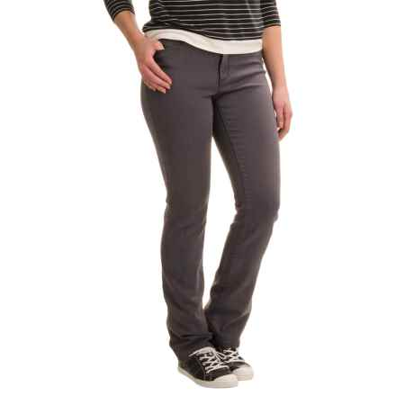 Lexington Lightweight Straight-Leg Jeans - Cotton-Rayon Blend (For Women) in Grey - Closeouts