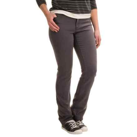 Lexington Lightweight Straight-Leg Jeans - Cotton-Rayon Blend (For Women) in Grey - 2nds
