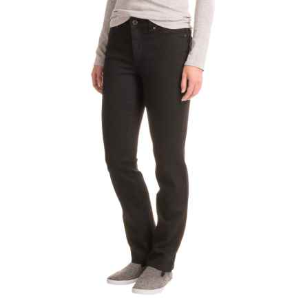 Lexington Lightweight Straight-Leg Jeans (For Petite Women) in Black - 2nds