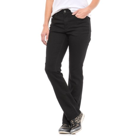 Lexington Stretch Cotton Jeans - Straight Leg (For Women)