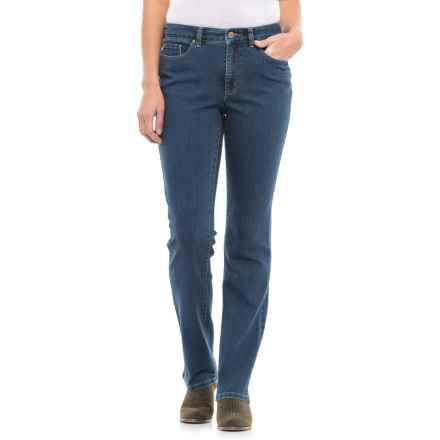 Lexington Stretch Cotton Jeans - Straight Leg (For Women) in Blue - 2nds