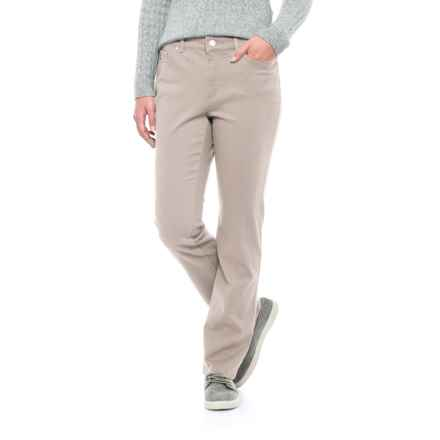 Lexington Stretch-Twill Pants - Straight Leg (For Women) in Stone - 2nds