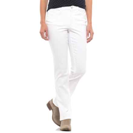 Lexington Stretch-Twill Pants - Straight Leg (For Women) in White - 2nds