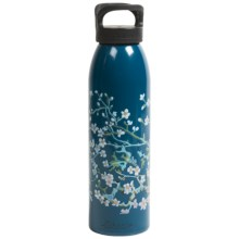 Liberty Bottle Works Artist Collection Water Bottle - BPA-Free, Aluminum, 24 oz. in Blossom - Closeouts