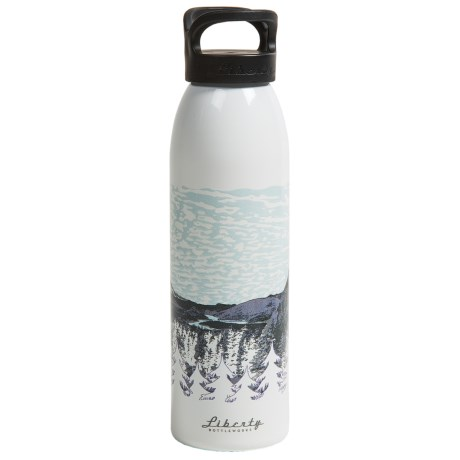 Liberty Bottle Works Artist Collection Water Bottle - BPA-Free, Aluminum, 24 oz. in Rimrock