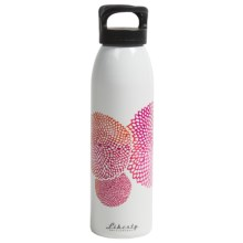 Liberty Bottle Works Water Bottle - 24 oz., BPA-Free, Artist Collection in Dahlia Pink - Closeouts
