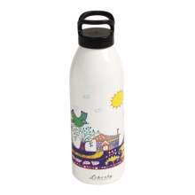 Liberty Bottle Works Water Bottle - 32 oz. BPA-Free, Artist Collection in Paradise Found - Closeouts