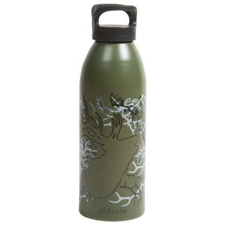 Liberty Bottle Works Water Bottle - 32 oz. BPA-Free, Artist Collection in Trophy