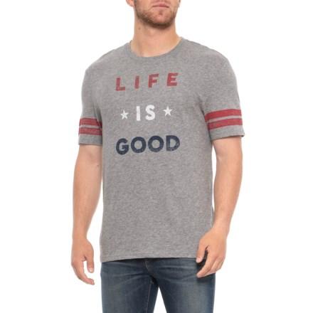 00fdccf5 Life is good® Americana Vintage Sport T-Shirt - Short Sleeve (For Men