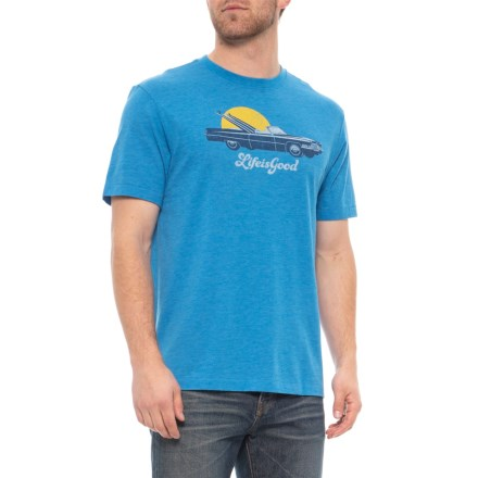 Life is good® Beach Caddy Cool T-Shirt - Short Sleeve (For Men 1c870363694b