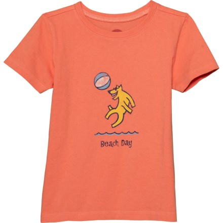 8ddb076c9a83b Life is good® Beach Day Crusher T-Shirt - Short Sleeve (For Toddlers