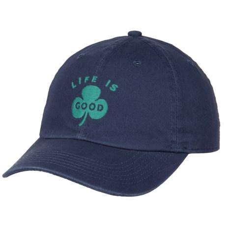 Life is good® Clover Chill Baseball Cap (For Kids) in Darkest Blue