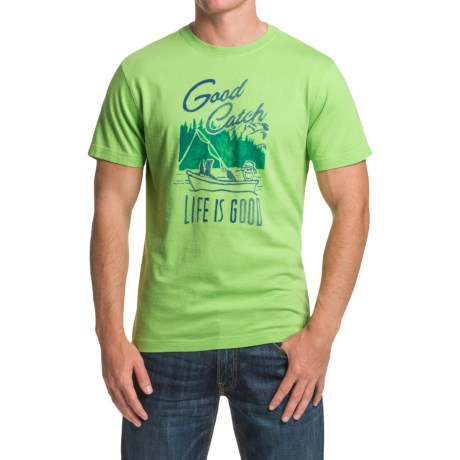 Life is good® Crusher™ T-Shirt - Short Sleeve (For Men)