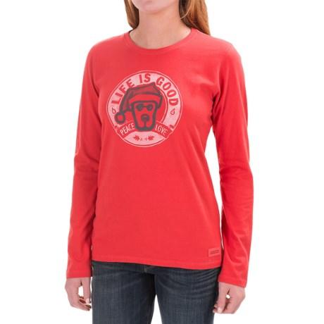 Life is good® Crusher Shirt - Long Sleeve (For Women)