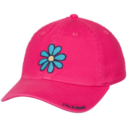 945c88e5dd8 Life is good® Daisy Chill Baseball Cap (For Kids) in Pop Pink -