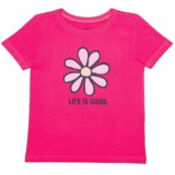 Life is good® Daisy Crusher T-Shirt - Short Sleeve (For Toddlers)