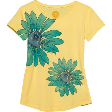 548637b102d90 Life is good® Delightful Daisy Smiling Smooth T-Shirt - Short Sleeve (For