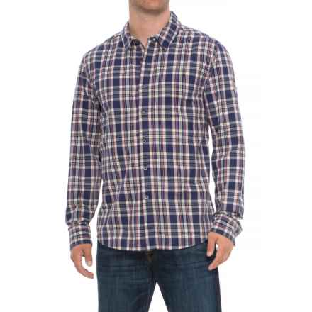 Life is good® Down Home Plaid Shirt - Long Sleeve (For Men) in Darkest Blue - Closeouts