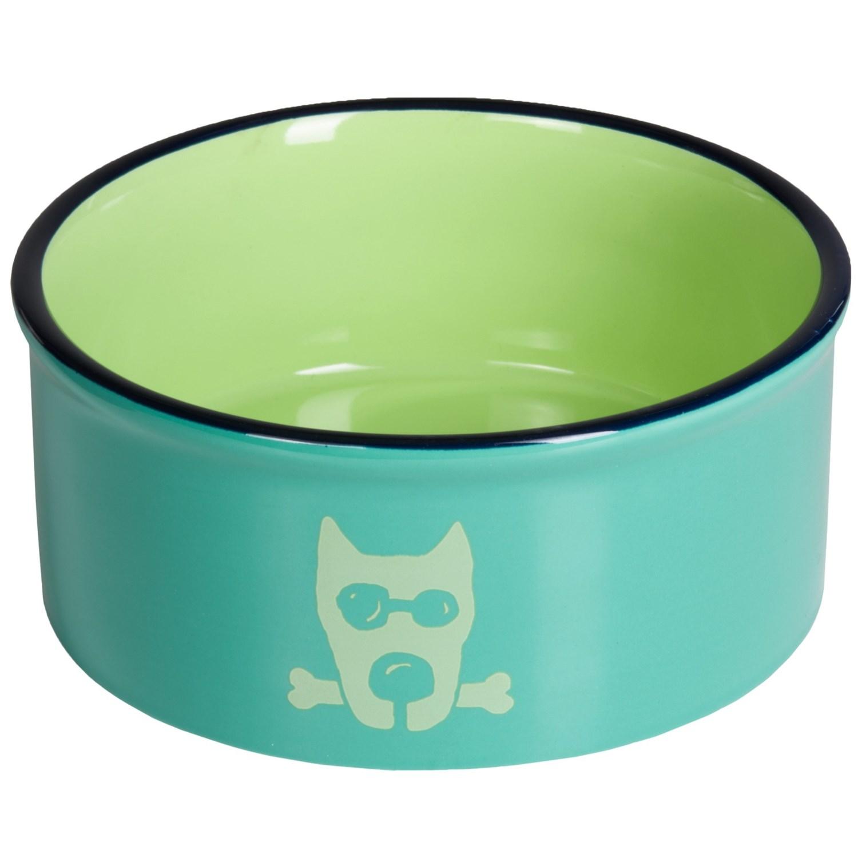 Life Is Good Dog Bowl Ceramic