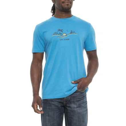 3da688f0ff Life is good® Happy Hour Sun Crusher T-Shirt - Short Sleeve (For