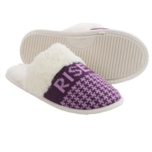 Life is good® Houndstooth Scuff Slippers (For Women) in Rise And Shine Smoky Plum - Closeouts
