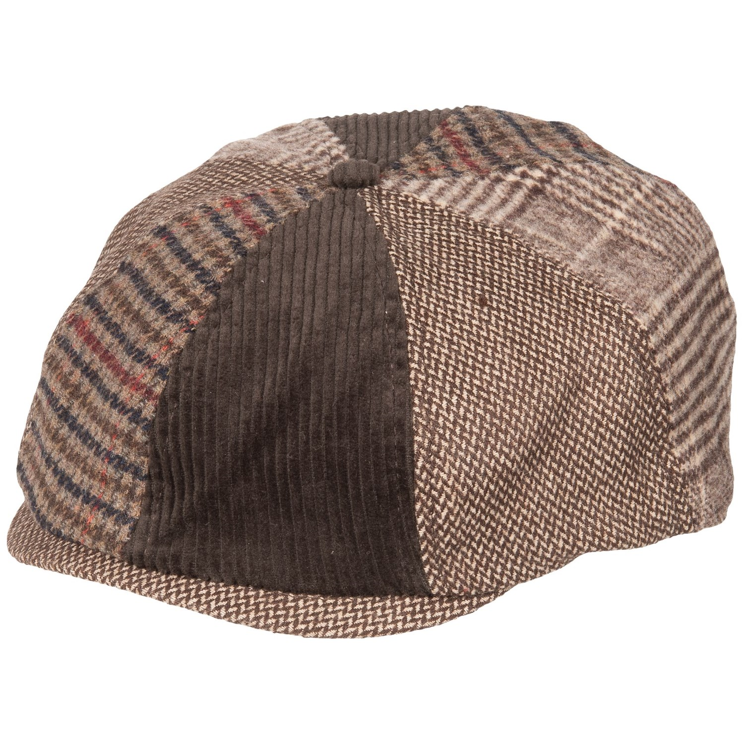 3d047a65d040e Life is good® Mixed Patterns Brown Baker s Cap (For Men) in Rich Brown ...