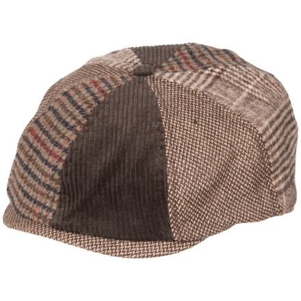 73b7bb7271b5b Life is good® Mixed Patterns Brown Baker s Cap (For Men) in Rich Brown