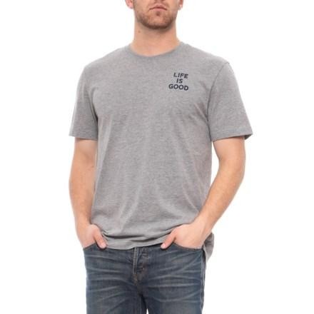 0b142522588 Life is good® Paradise Turtle Crusher T-Shirt - Short Sleeve (For Men