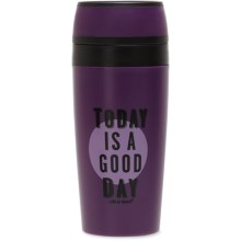 Life is good® Pop Top Tumbler - 15 fl.oz. in Good Day - Closeouts