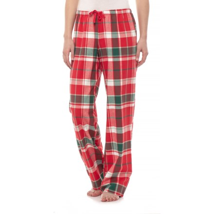 Life is good® Red Plaid Classic Sleep Pants (For Women) in Americana Red f5b54292a
