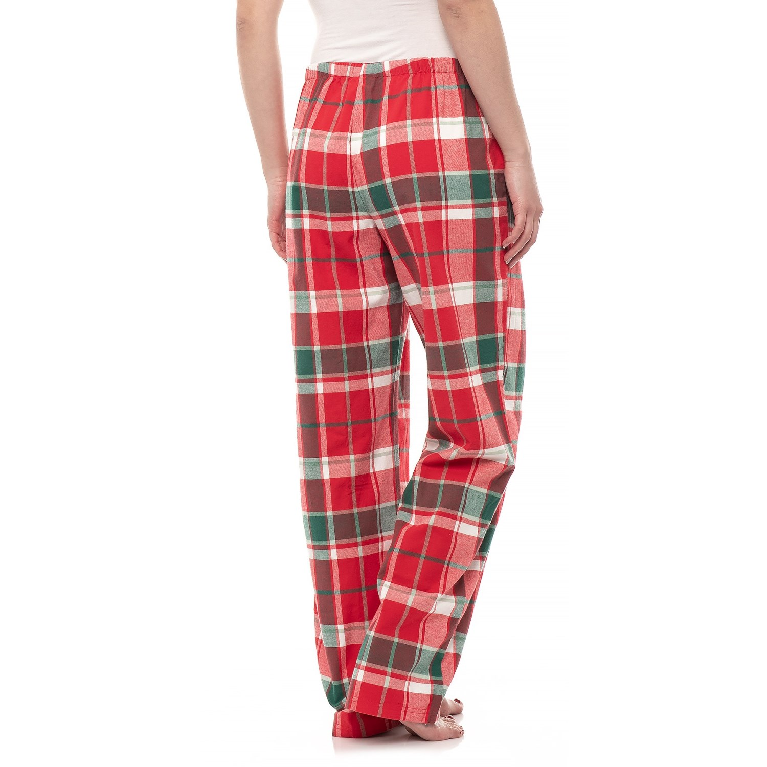 5d3379b69a8 Life is good® Red Plaid Classic Sleep Pants (For Women) - Save 81%
