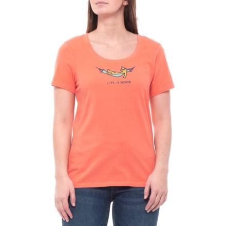 enu hammock accessories · Life is good® Rocket Hammock Crusher T-Shirt -  Short Sleeve (For Women 8a9409f294