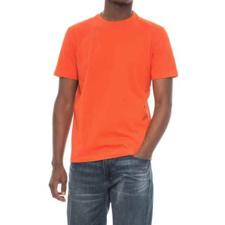 Life is good® Solid Crusher T-Shirt - Short Sleeve (For Men) in Flame Orange - Closeouts
