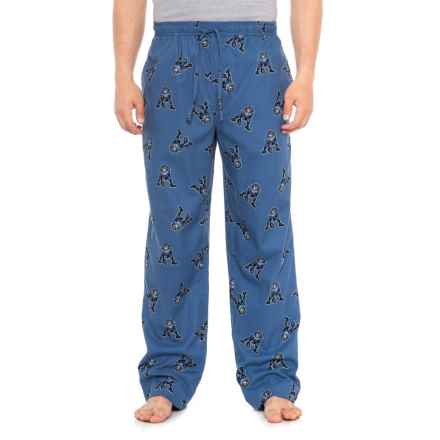 Life is good® Tossed Jake Football Classic Sleep Pants (For Men) in Vintage Blue - Closeouts