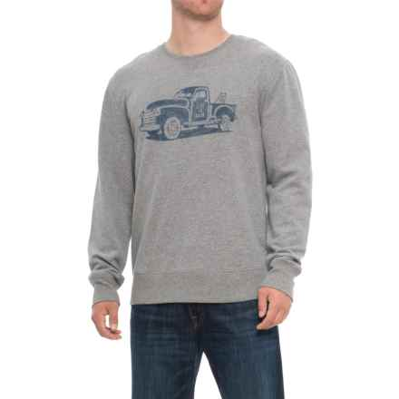 Life is good® Truck Go-To Sweatshirt (For Men) in Heather Gray - Closeouts