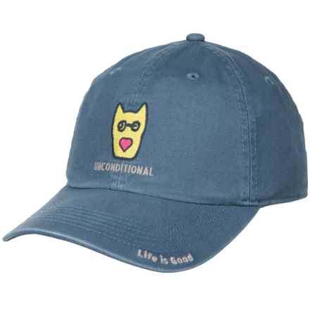 Life is good® Unconditional Chill Baseball Cap (For Kids) in Vintage Blue - Closeouts