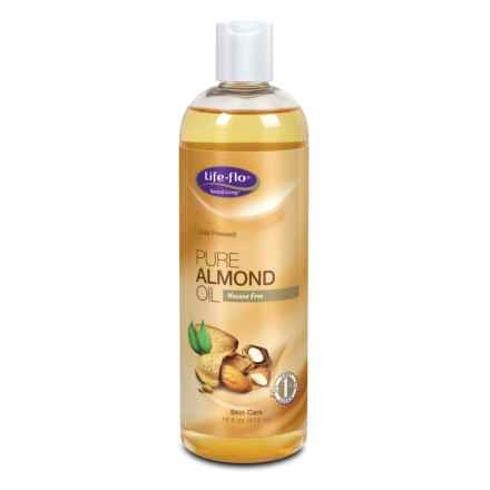 Lifeflo Pure Almond Oil - 16 oz. in Multi - Closeouts