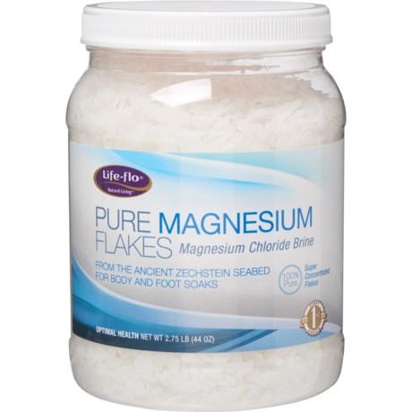 Lifeflo Pure Magnesium Flakes - 44 oz  - Save 33%