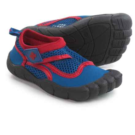 Lifeguard Synthetic Water Shoes - Waterproof (For Little and Big Boys) in Blue/Red - Closeouts