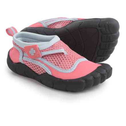 Lifeguard Water Activity Shoes (For Toddler Girls) in Pink/Blue - Closeouts