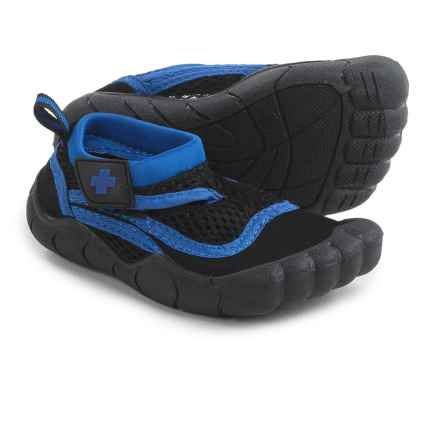 Lifeguard Water Shoes - Waterproof (For Toddler Boys) in Black - Closeouts
