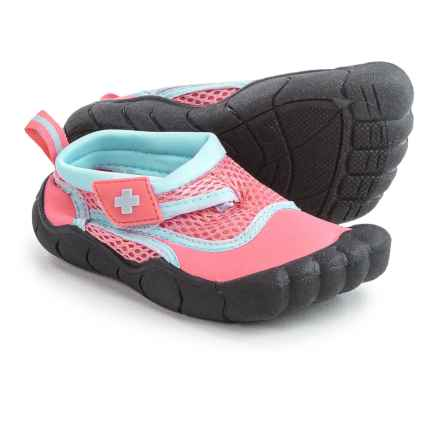 Lifeguard Water Shoes - Waterproof (For Toddler Girls) in Pink/Blue - Closeouts