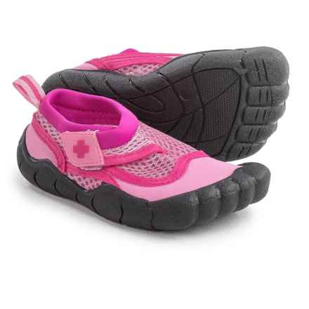 Lifeguard Water Shoes - Waterproof (For Toddler Girls) in Pink - Closeouts